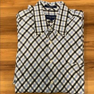 Alan Flusser Men's Button Down Shirt XL